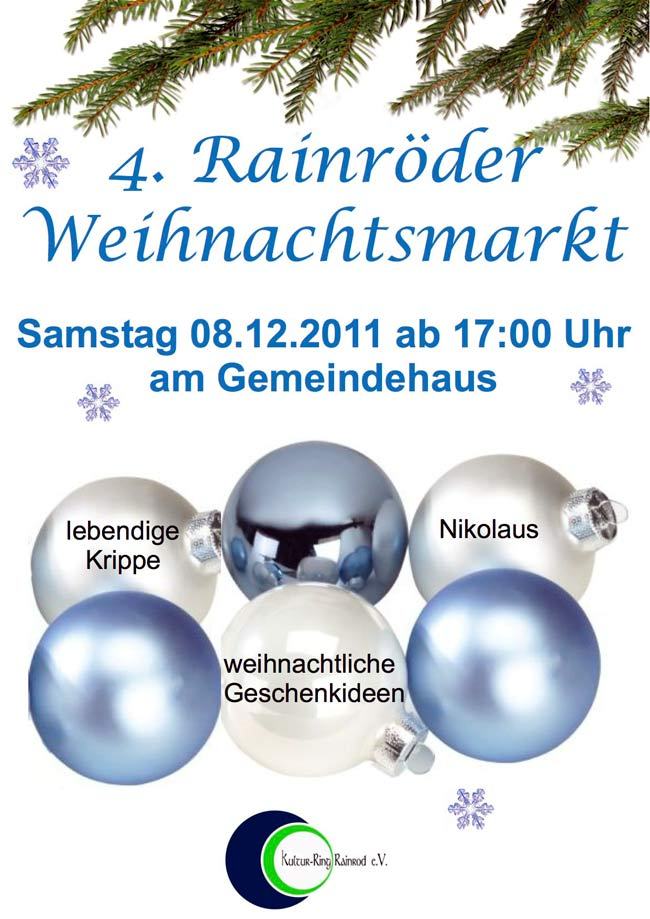Weihnachtsmarkt schotten Rainrod 2012 08.12.2012