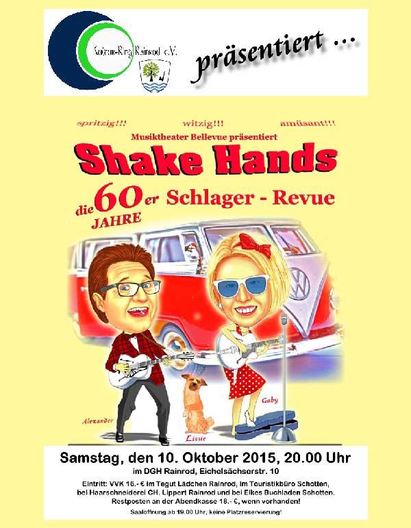 Shake Hands - Musiktheater Bellevue