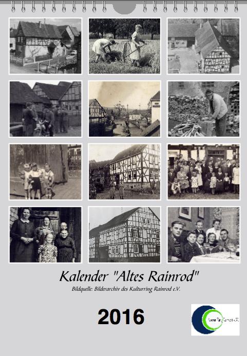 Kalender Rainrod 2016